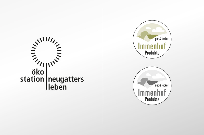 Ökostation | Immenhof Produkt Label
