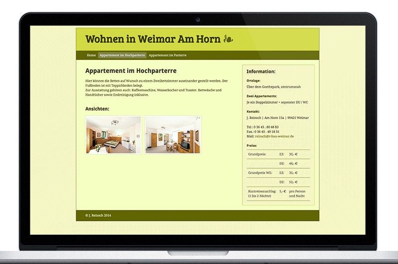 Weimar Am Horn Website